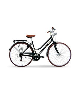"City bike 28"" da donna nero"